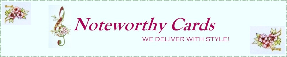 Noteworthy Cards, site logo.