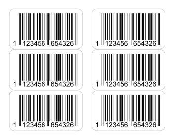 <!-- 037 -->Barcode Labels