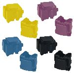 Xerox 8570 / 8580 Compatible ColorQube Full Set of Solid Inks (8 Sticks)
