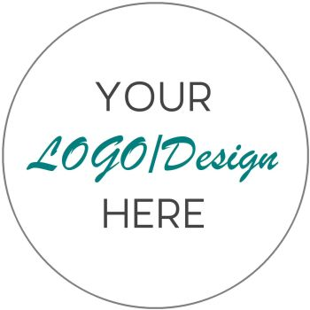 Personalised Business Company LOGO labels 63mm