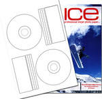 50 ICE Gloss Offset (PressIt Style) CD / DVD Labels