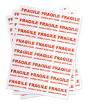 1200 FRAGILE - HANDLE WITH CARE - Medium Labels