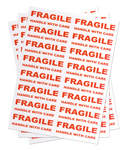 800 FRAGILE - HANDLE WITH CARE - Large Labels
