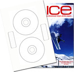 1000 ICE Gloss Inline (Neato Style) CD / DVD Labels
