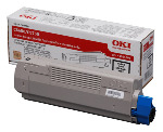 Genuine Black OKI Toner Cartridge C5650 / C5750 p/n 43865708
