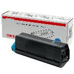 Genuine Cyan OKI Toner Cartridge C5100 / C5200 / C5300 / C5400 p/n 42804507