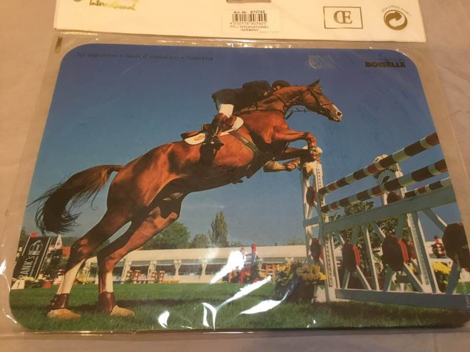 Ponies in Pink Mousemat Was £5.00