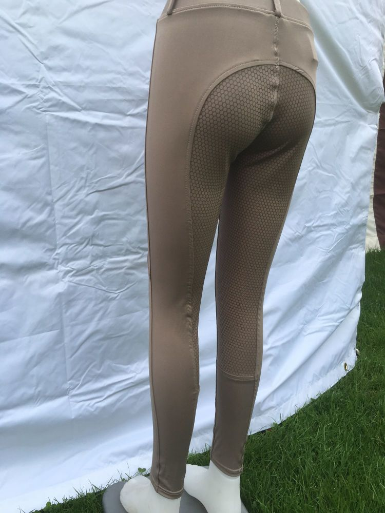 Silicone Riding Tights Wood