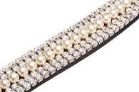 Caldene Crved 5 Row Diamante Browband