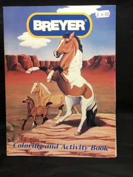 Breyer  activity Book  Was £4.00