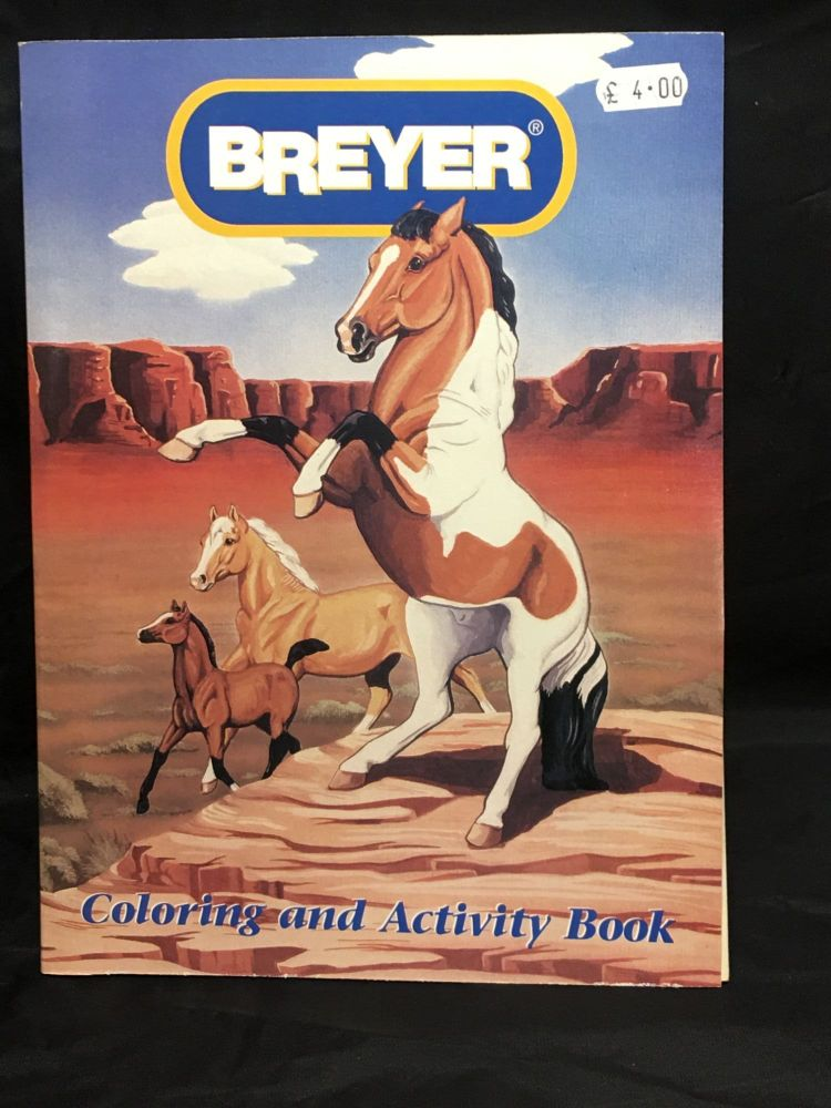 Breyer  activity Book  Was £4.00