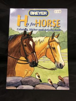 Breyer H is for Horse activity Book  Was £4.00