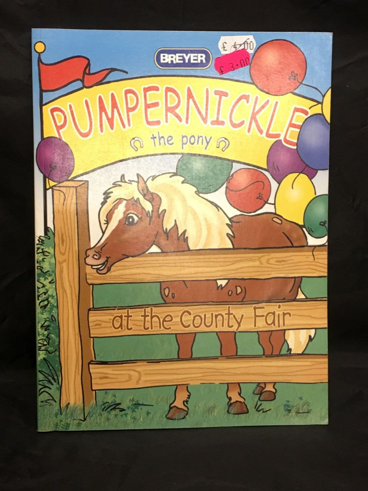 Breyer Pumpernickle Colouring Book   Was £4.00