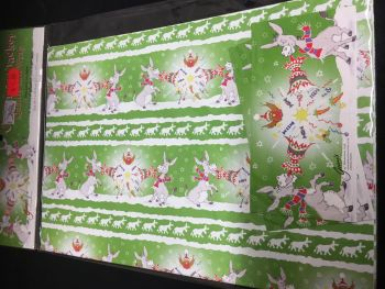 Christmas Cracker  gift wrap Was £2.00
