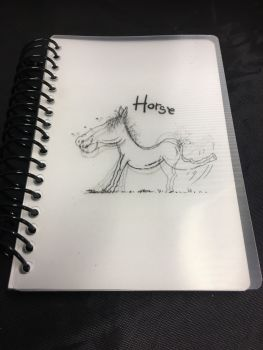 Hungry Horse Notebook Was £2.00