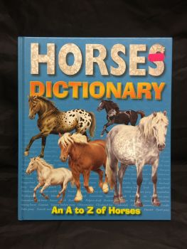 Horses Dictionary Book  Was £7.00