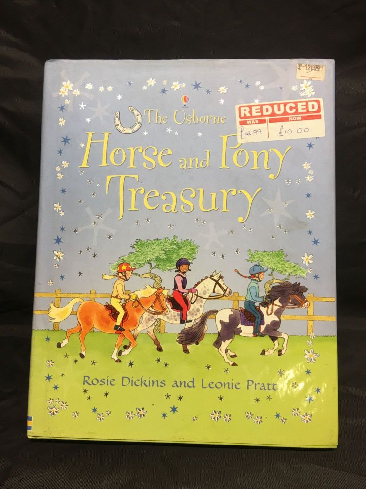 Usborne Horse And Pony Treasury Book  Was £12.99