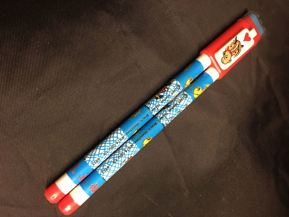 Thelwell pen, pencil , rubber set  Was £1.50