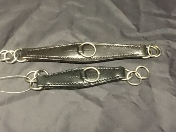 Leather Curb Chain