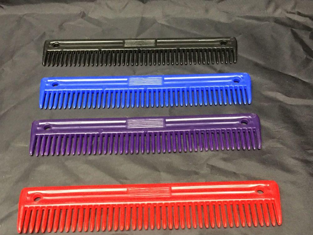 Plastic Mane Comb - Large