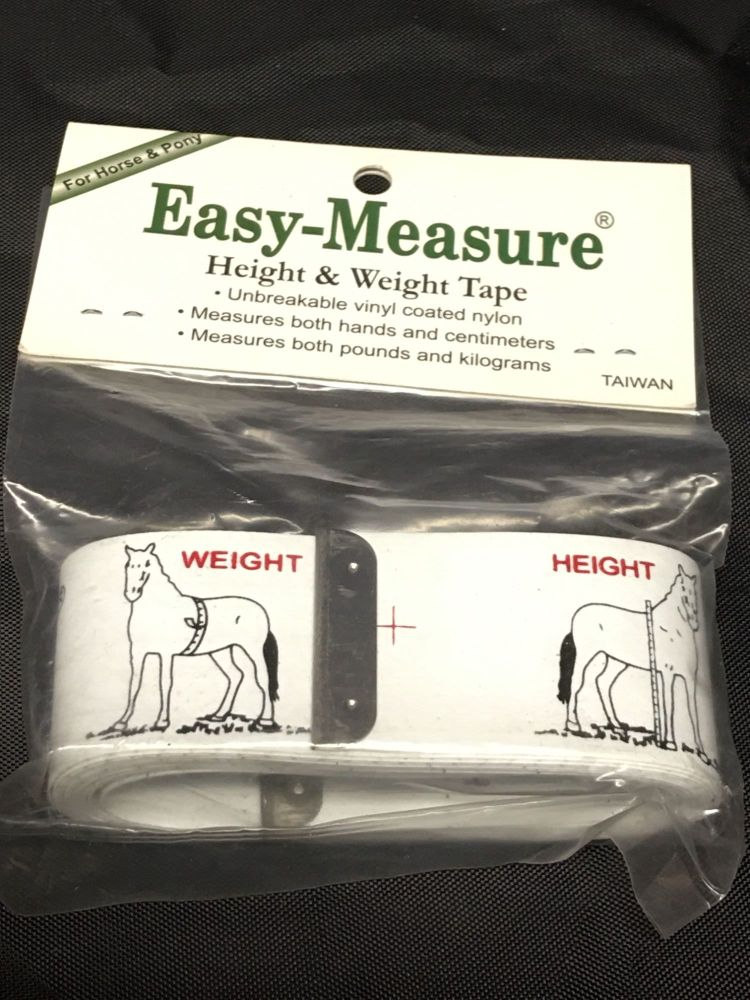 Easy Measure Height & Weight Tape