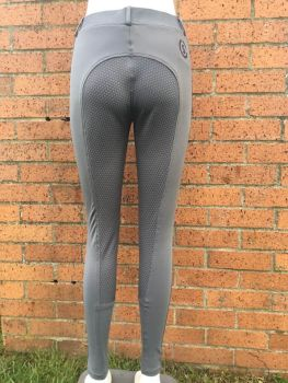 Sheldon Silicone Riding Tights Grey