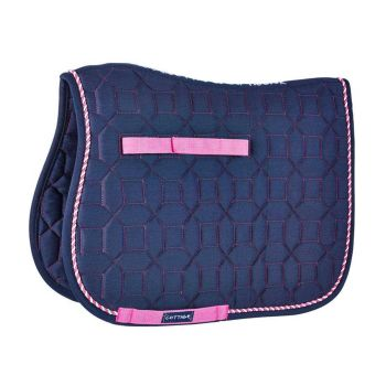 Cottage Craft Electra Saddlecloth - Navy