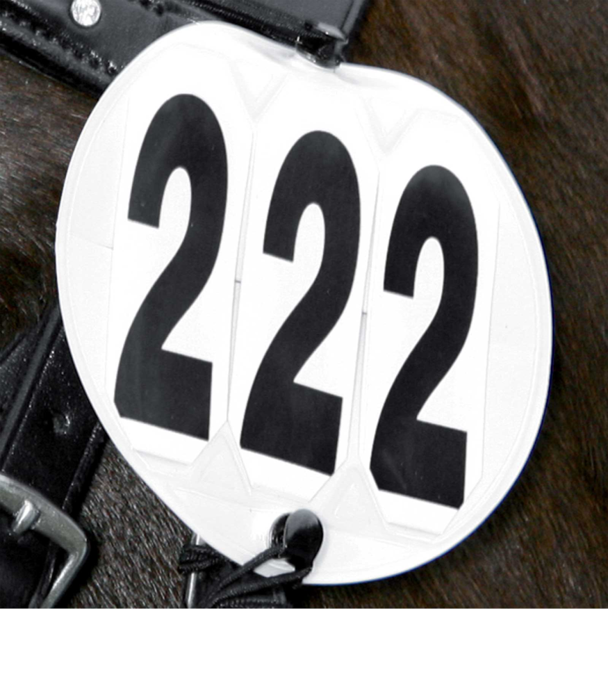 Bridle Competition Numbers - Round