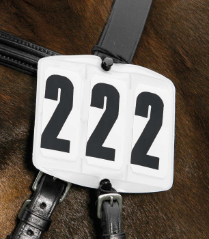 Bridle Competition Numbers - Rectangle