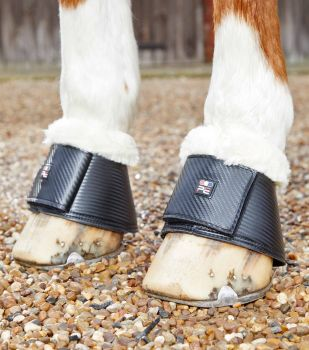 Premier Equine Carbon Tech Techno Wool Over Reach Boots