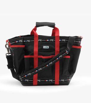 Premier Equine Grooming Bag - Black / Red