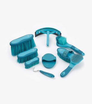 Premier Equine Soft Touch Grooming Kit - Blue / Peacock
