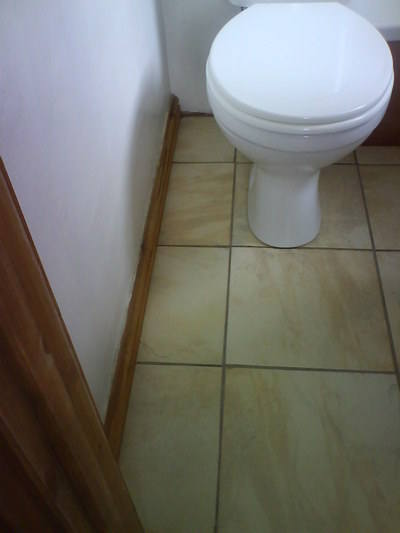 Toilet Tiles After - Stone Care Swansea