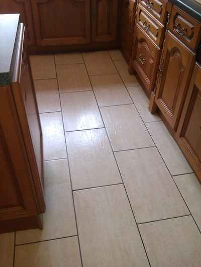 Non Slip Floor After - Stone Care Swansea