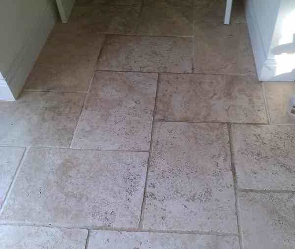 Limestone Before - Stone Care Swansea