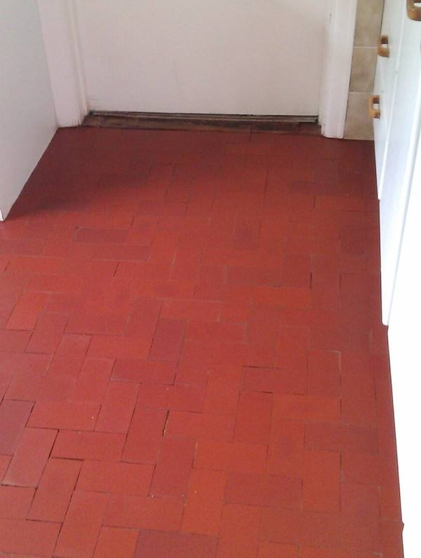 Brick Floor - Stone Care Swansea