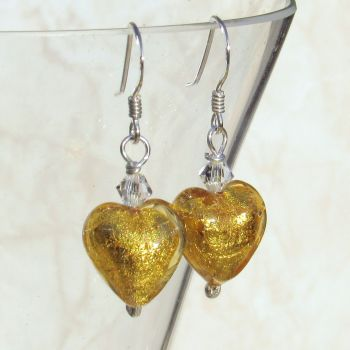 Gaggia Gold Foil Earrings - MGE5G