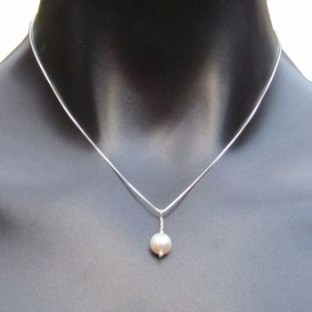 OFFER - Simple Pearl Necklace - CCN2