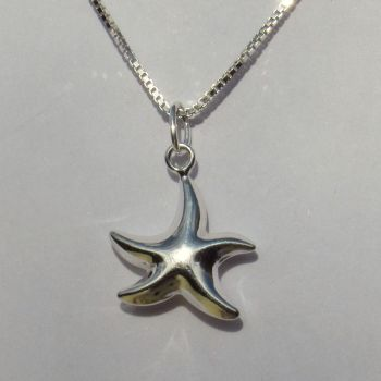 Silver Starfish Pendant - CCP7