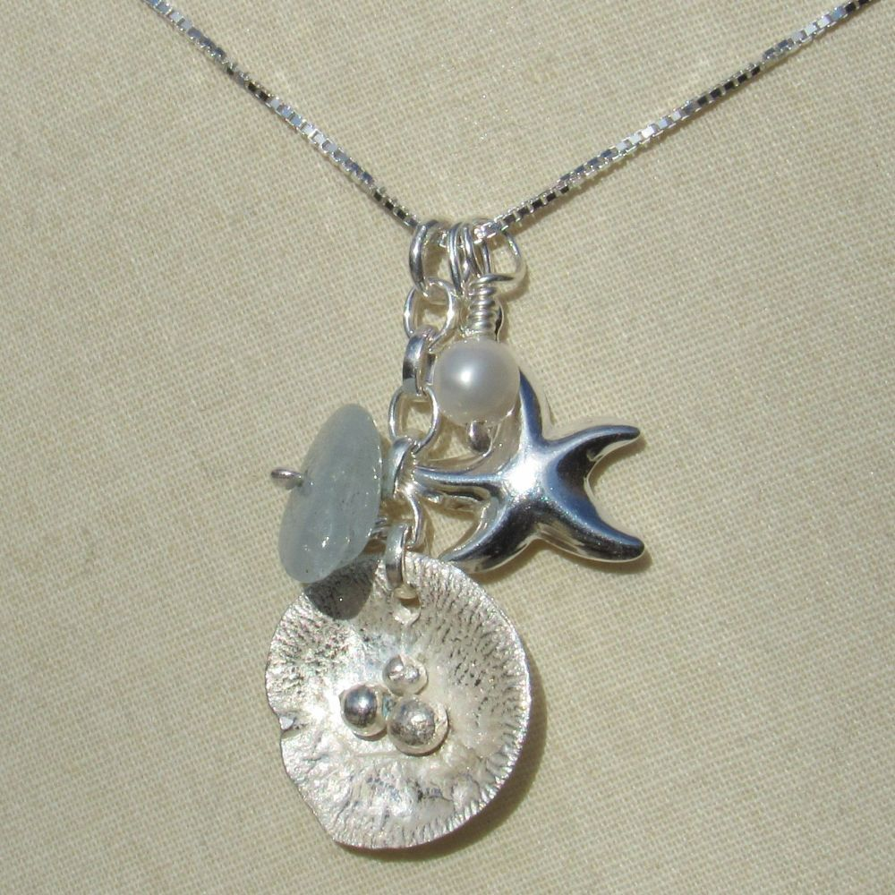 At the Beach Birthstone Necklace - CCN1