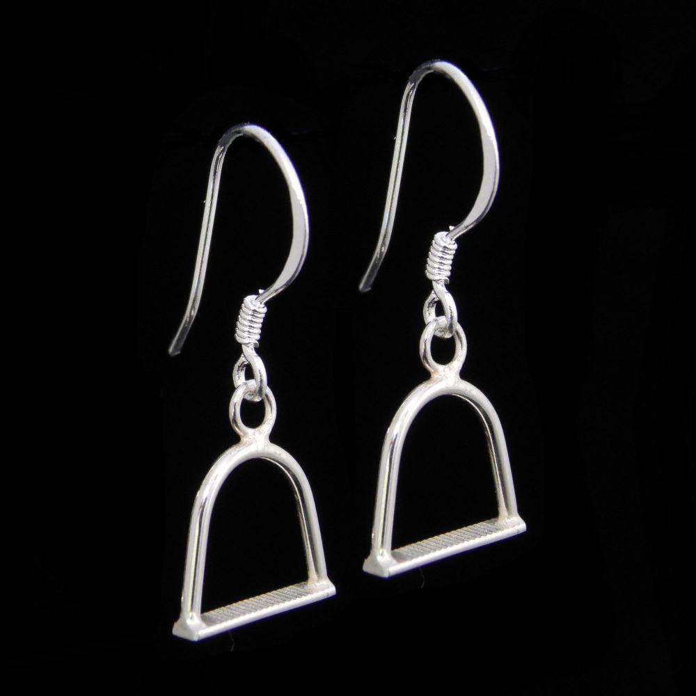 Stirrup Earrings - HCE2