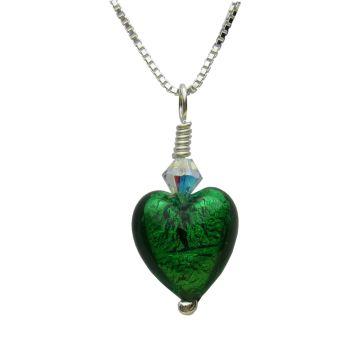 Emerald Murano Pendant - MGPA3