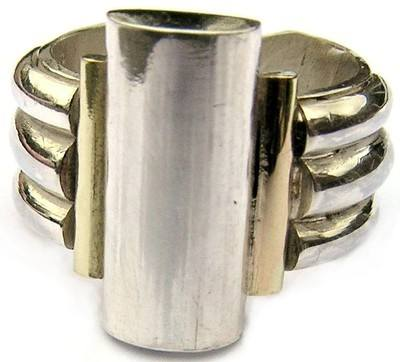 Signature Ring *  Silver Gold Rings -SDDR1