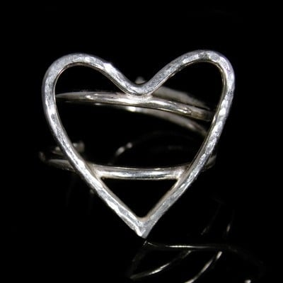 Heart Ring  (Adjustable) - JTAR2