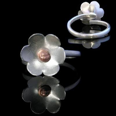 Forget Me Not Ring  (Adjustable) - JTAR6
