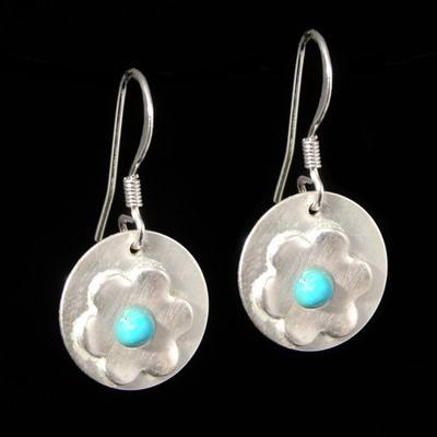 Turquoise Drop Earrings - GCE21