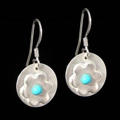 Turquoise Drop Earrings - GCE21
