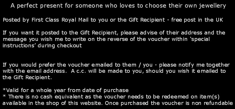 Gift Voucher Instructions