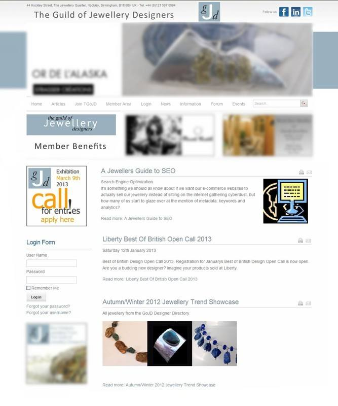 Guild of Jewellery Designers Article
