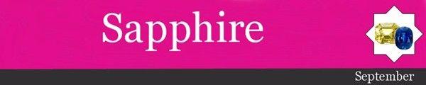 September Birthstone | Sapphire